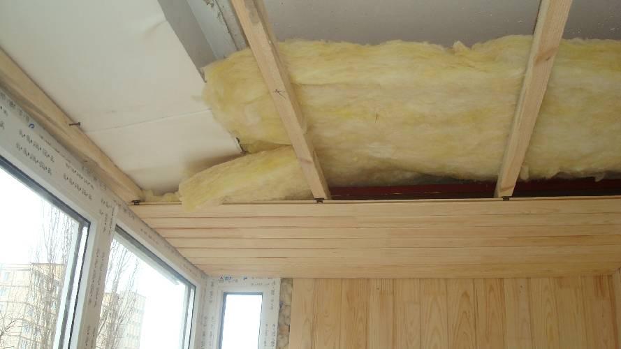 Как сделать утепление потолка изнутри своими руками, какой материал выбрать: пенопласт или минвату, детальное фото и видео