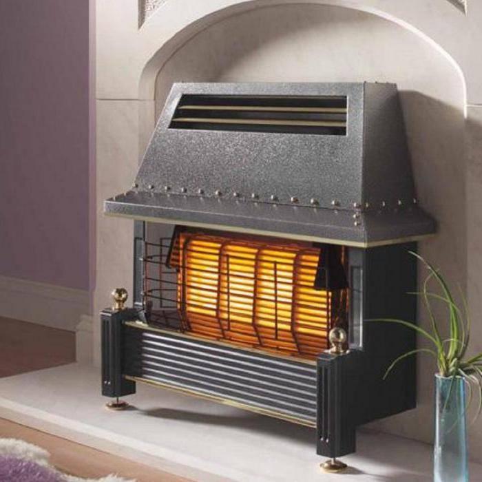 Газовый камин для дачи, загородного дома, печь камин на баллонном газе, для отопления от баллона