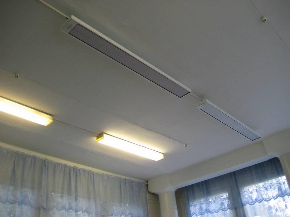 Инфракрасные потолочные обогреватели: особенности, советы по выбору и установке
