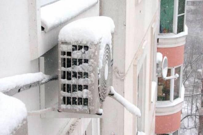 Можно ли устанавливать и использовать кондиционеры зимой