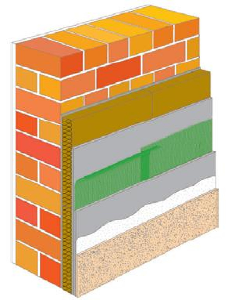 Устройство системы утепления мокрый фасад: технология монтажа