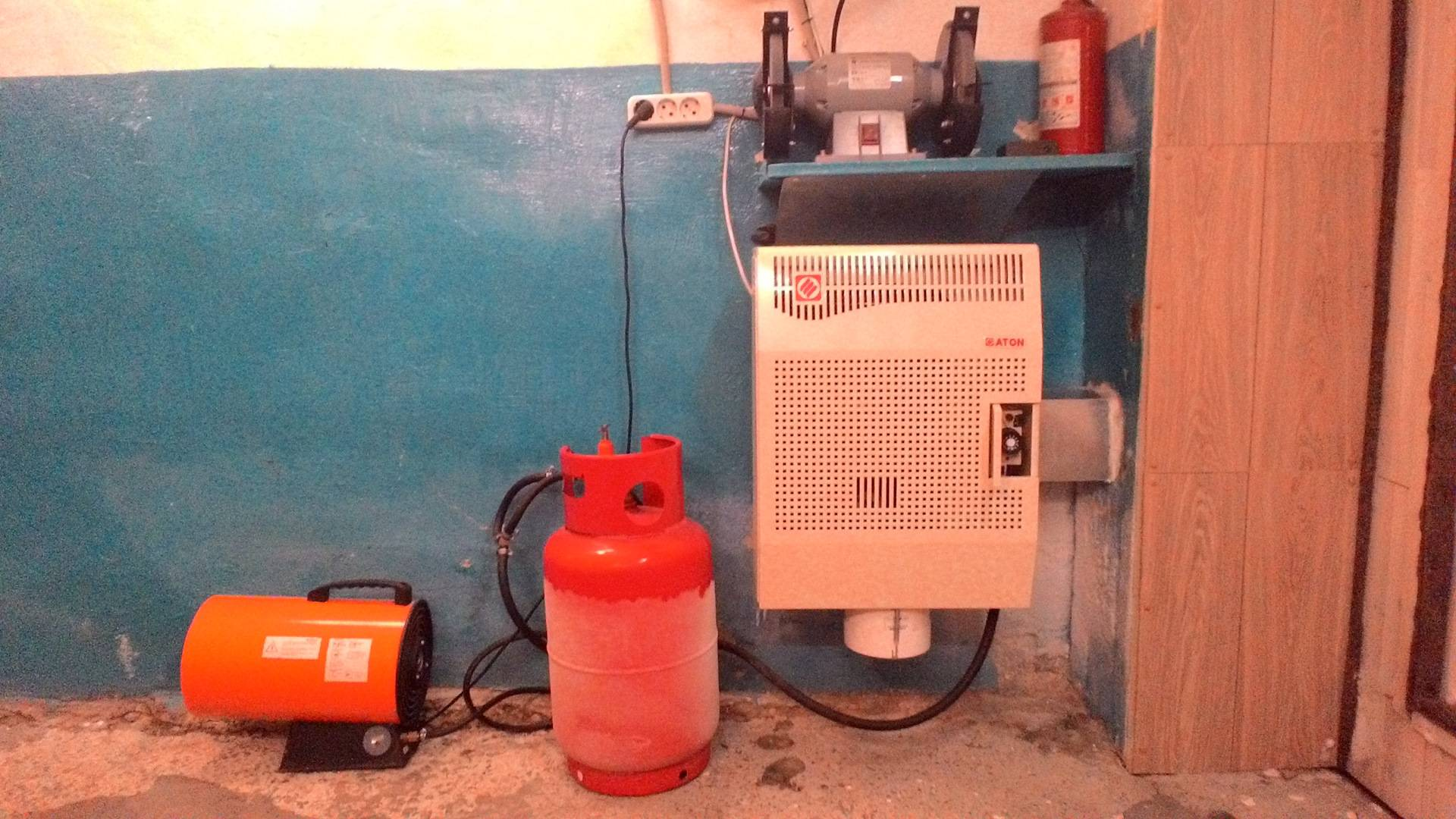 Особенности отопления гаража