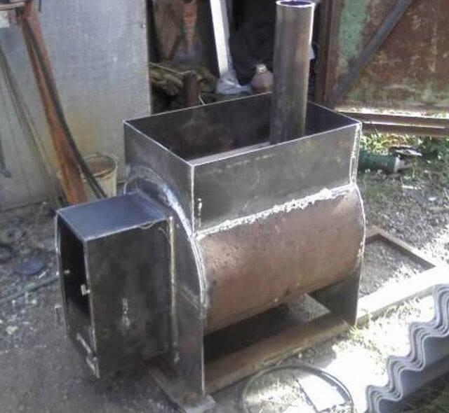 Изготовление и установка печки для бани своими руками