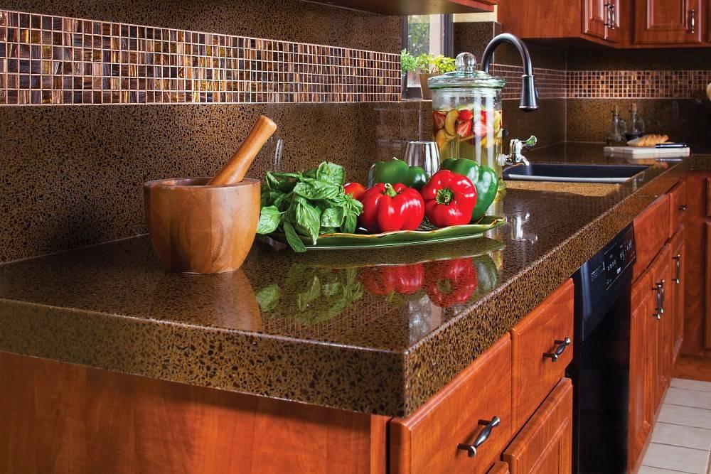 Цвет столешницы для кухни – правила выбора и советы