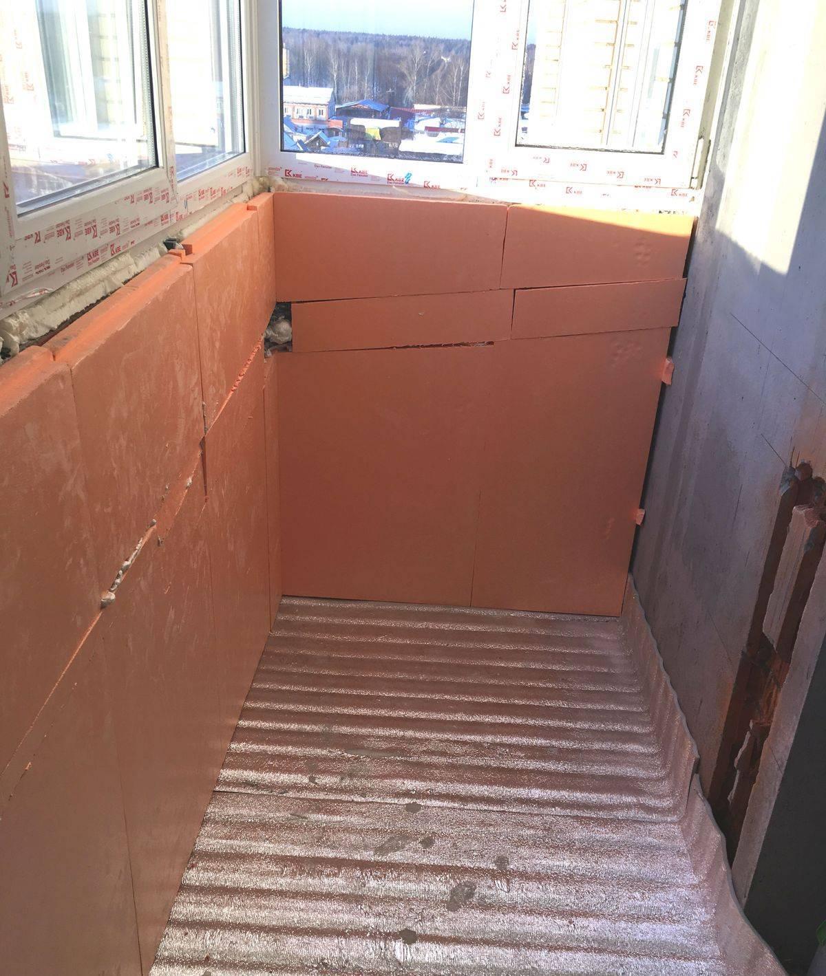 Основные особенности правильного утепления балкона под жилую комнату: порядок выполнения работ своими руками