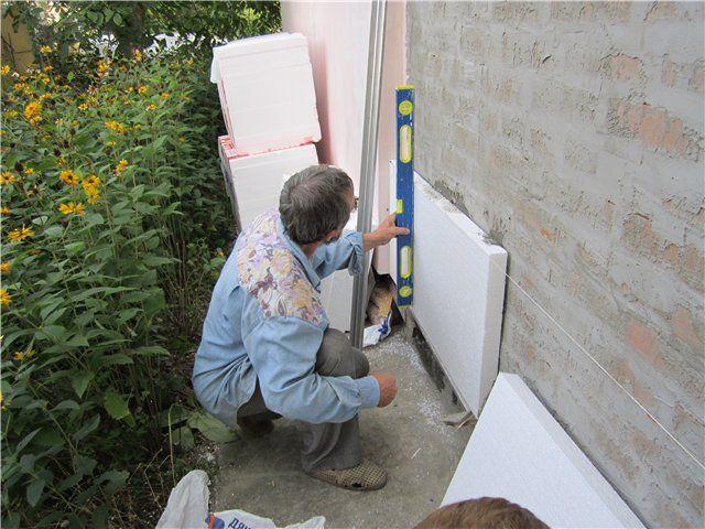 Как крепить пенопласт к стене правильнее всего | дом гвоздем