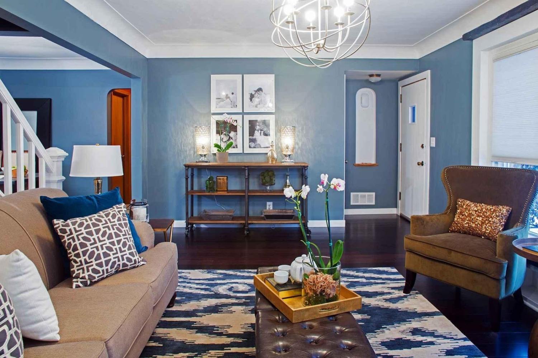 Интерьер в синих цветах — пошаговая инструкция, как оформить дизайн в синих тонах (150 эксклюзивных фото)