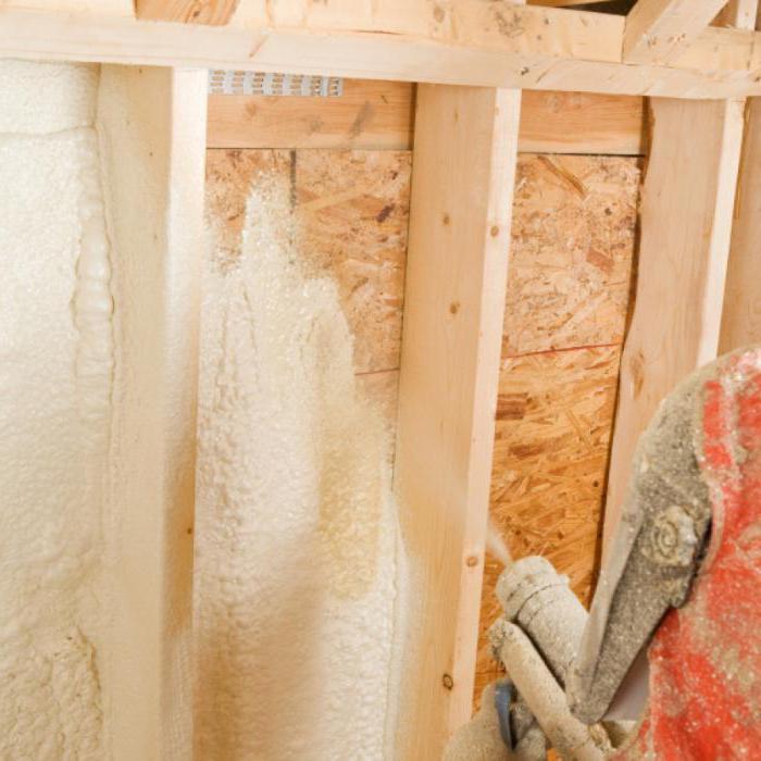Утепление каркасного дома пенополиуретаном: отзывы об теплоизоляции данным способом