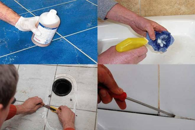Чем отмыть герметик от ванны и не навредить поверхности
