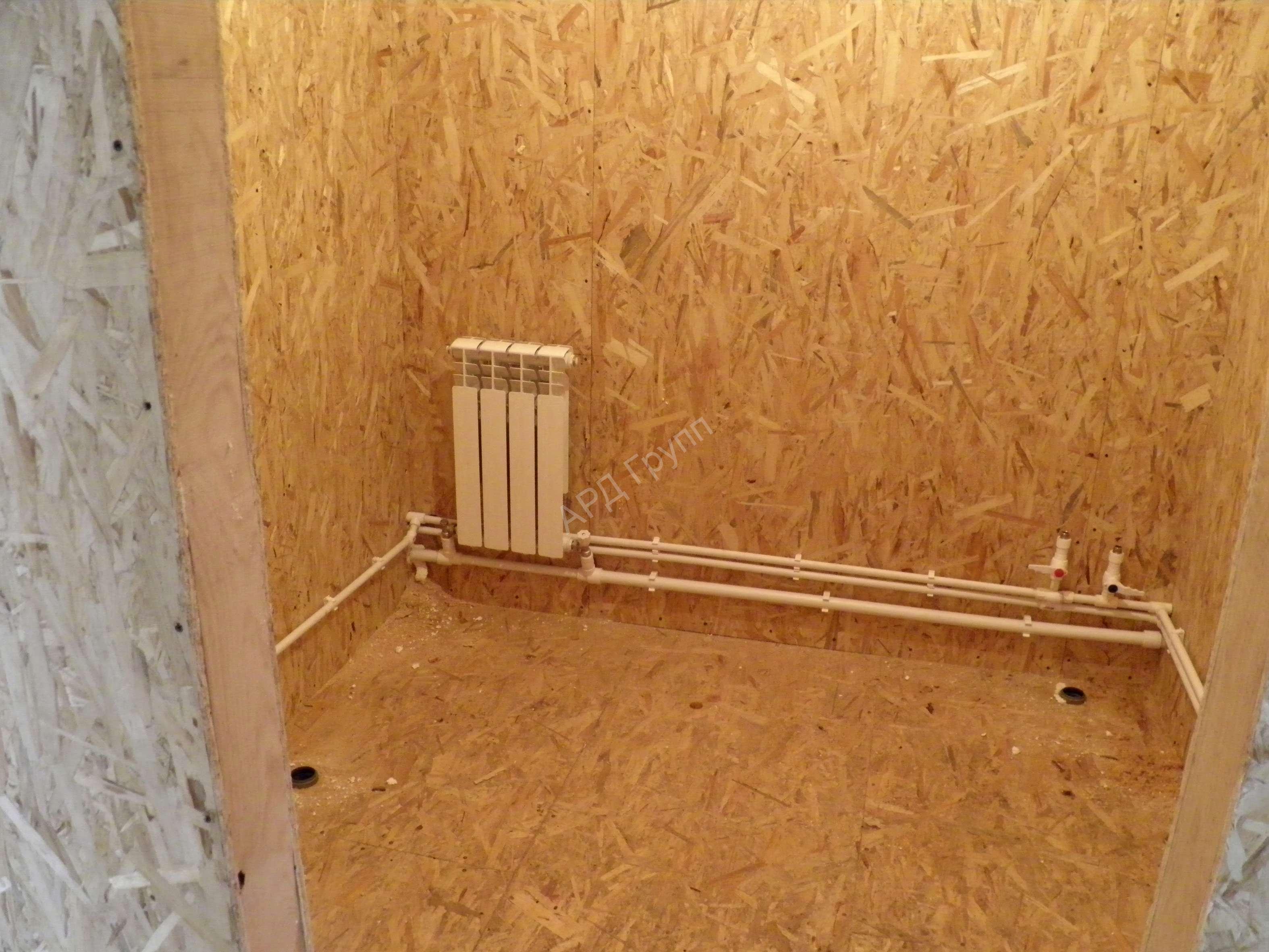 Отопление дома из сип панелей: варианты отопления, сравнение (фото, видео)
