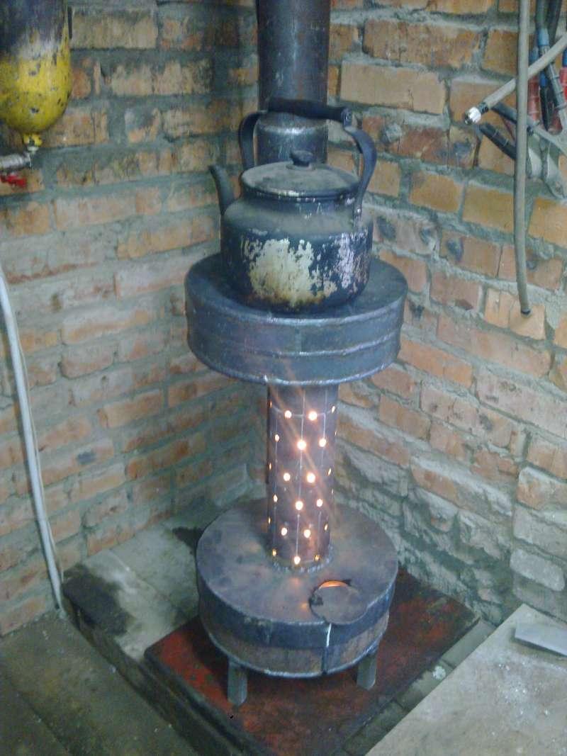 Печь на жидком топливе или отработке своими руками