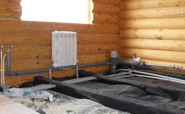 Водяное отопление на даче: схемы монтажа своими руками