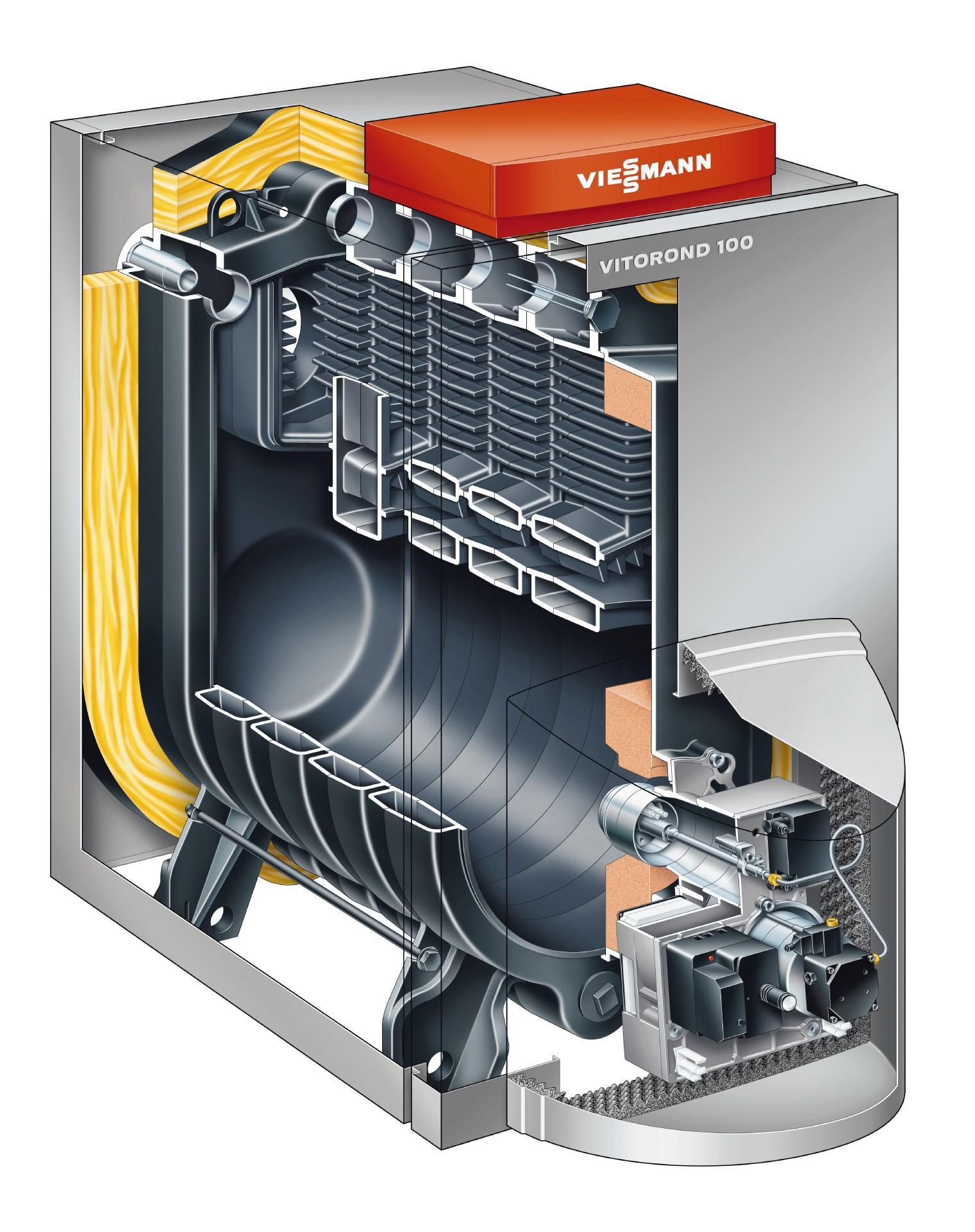 Газовые котлы с чугунным теплообменником: энергонезависимые, атмосферные