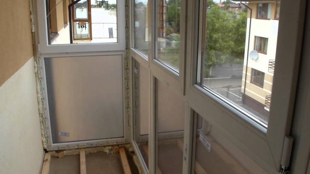 Как утеплить французский балкон?