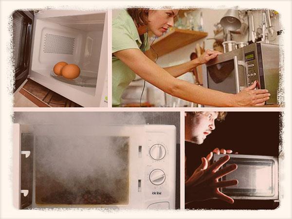 Продукты и посуда, которые нельзя греть в микроволновке