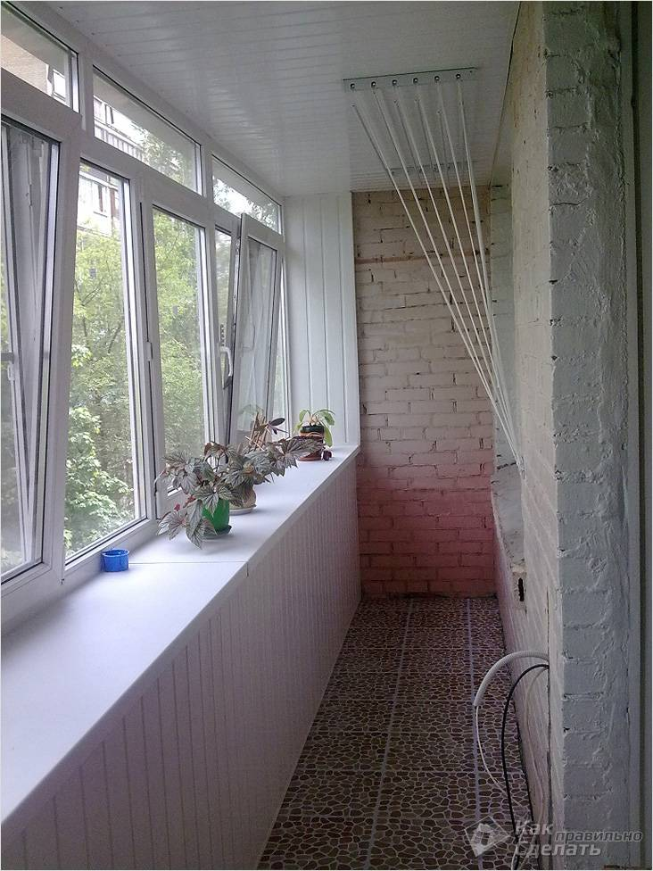 Теплый балкон своими руками: от остекления и утепления до подогрева пола