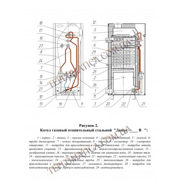 Отопительные и водогрейные котлы «данко»: особенности, технические характеристики
