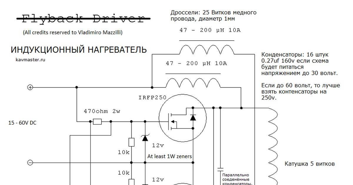 Индукционный котел своими руками: схема, устройство, чертежи и пошаговая инструкция по монтажу + фото