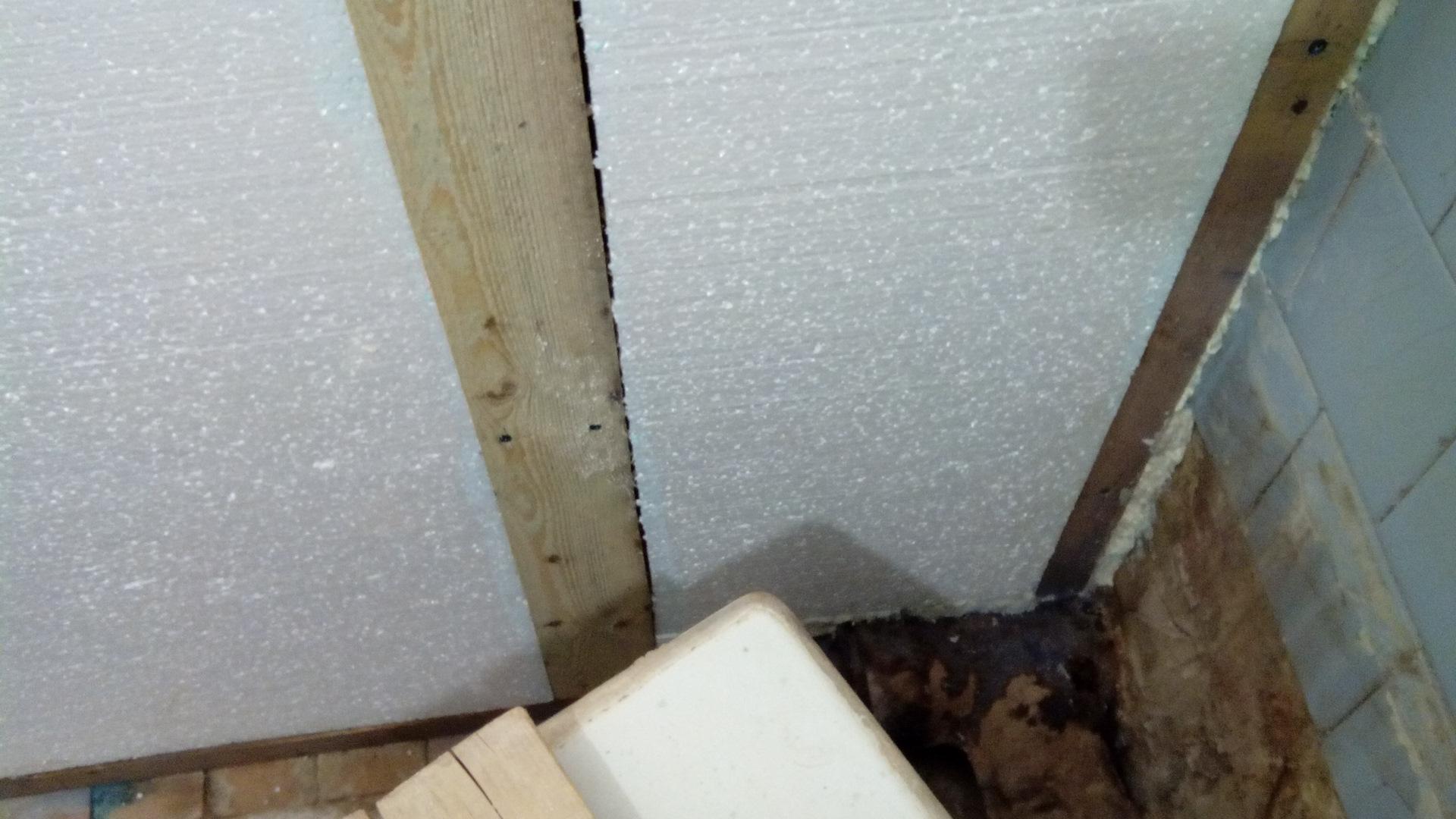 Утепление ванной комнаты изнутри своими руками ⋆ прорабофф.рф