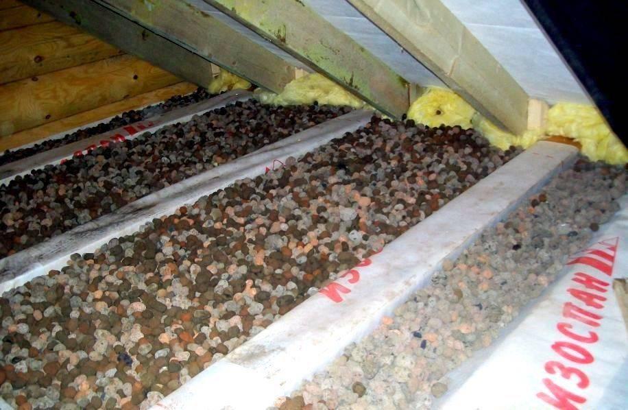 Утепление стен керамзитом каркасного дома, пола в каркасном доме на сваях