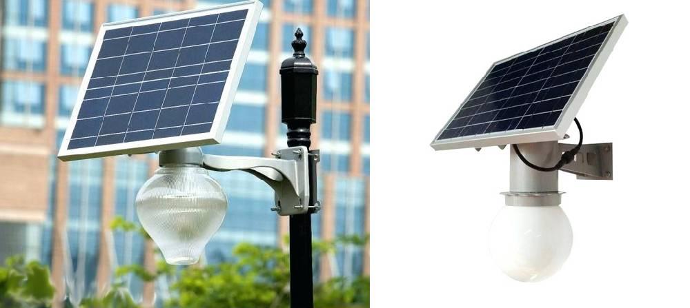 Фонари на солнечных батареях: особенности, принцип действия, плюсы и минусы, устройство, установка
