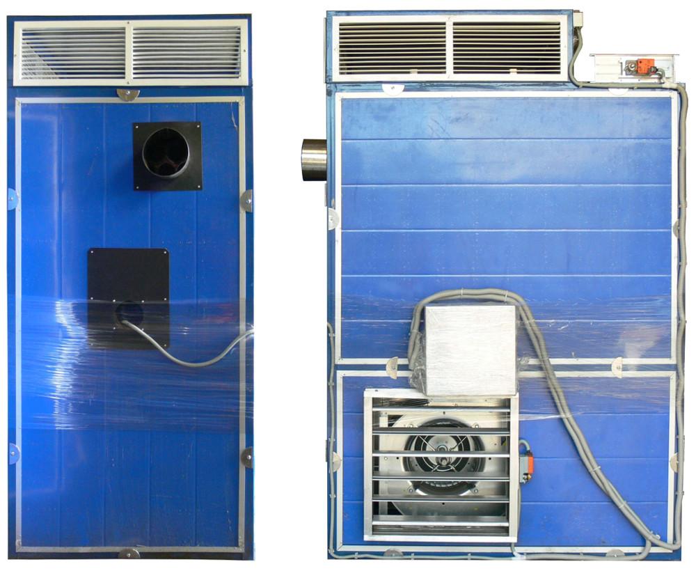 Какие бывают газовые теплогенераторы для воздушного отопления