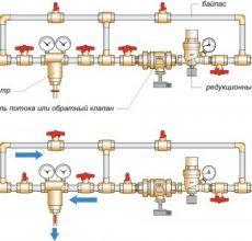 Клапан подпитки системы отопления: характеристики, особенности монтажа