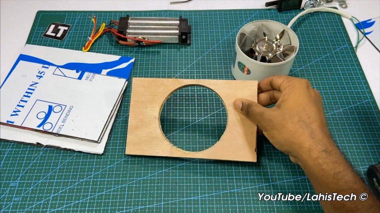 Как сделать хорошо работающий электрический обогреватель своими руками
