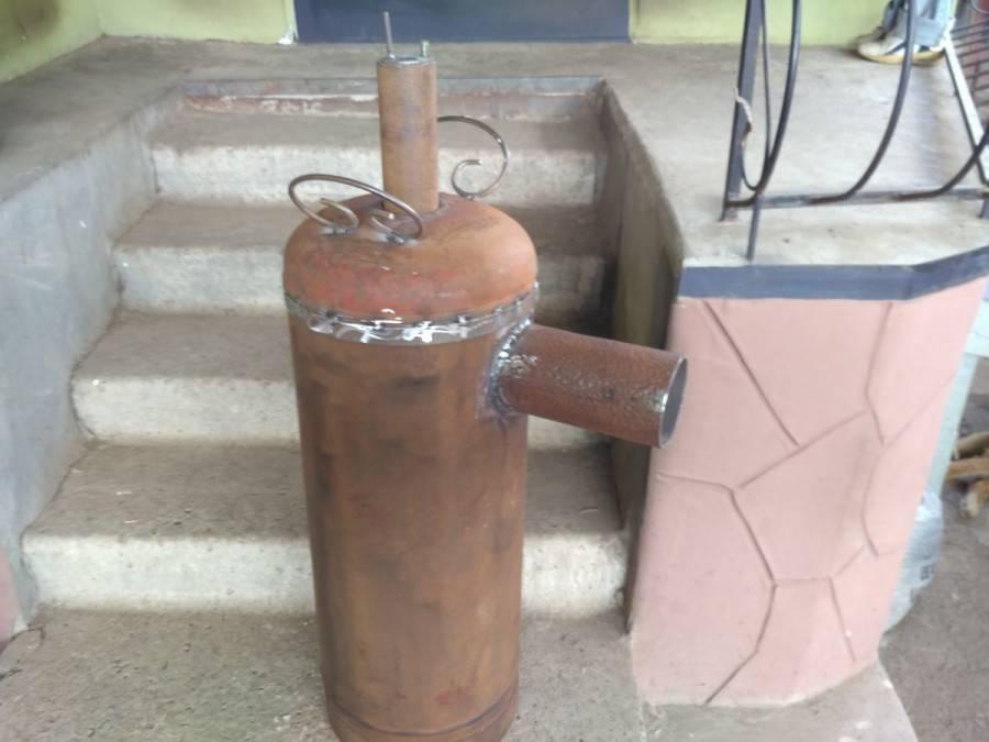 Печь длительного горения для теплицы своими руками: устройство, принцип работы, сборка