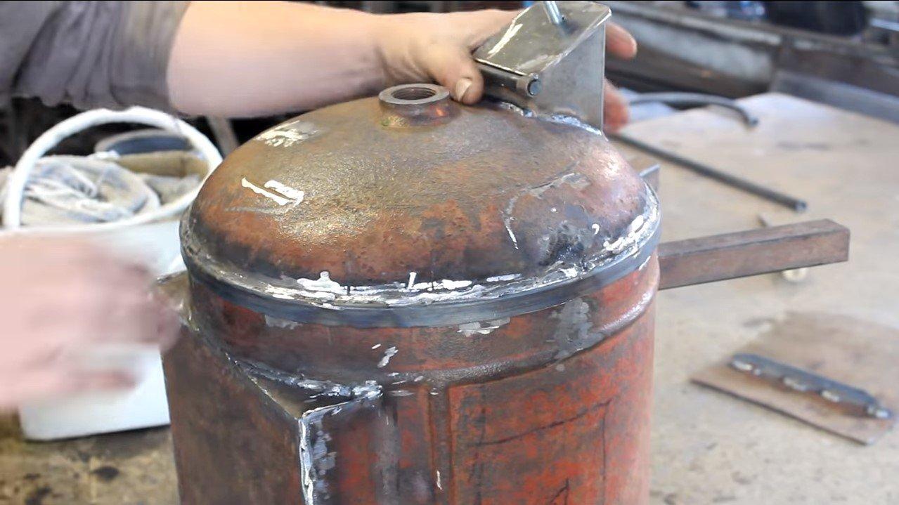 Как сделать печь буржуйку из газового баллона своими руками: фото и чертежи, видео и секреты