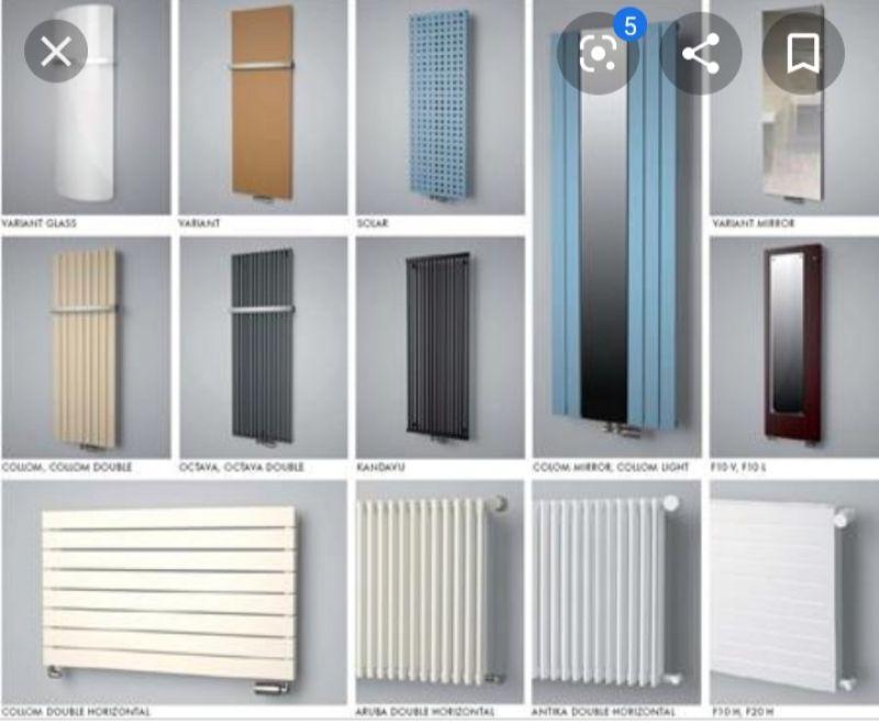 Вертикальные радиаторы отопления для квартиры - трубчатые, стальные и не только, установка