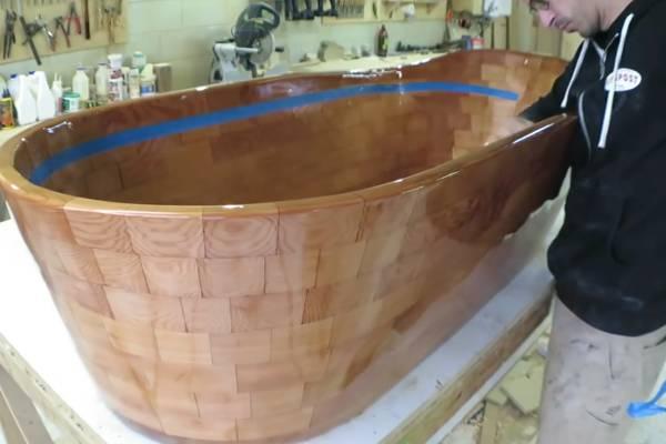 Раковина из дерева: деревянная конструкция своими руками, как сделать деревенский умывальник, чем покрыть рукомойник из дерева
