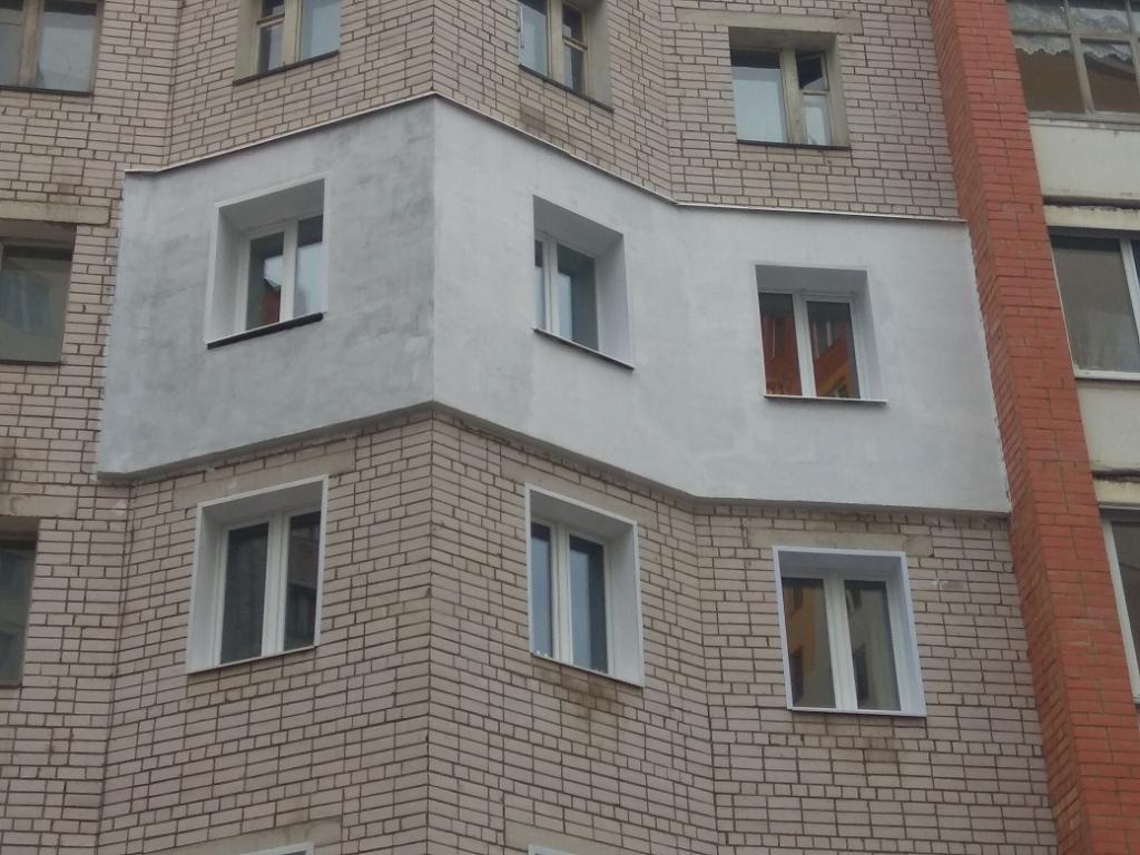 Утепление фасадов административных зданий - компания строй-континент