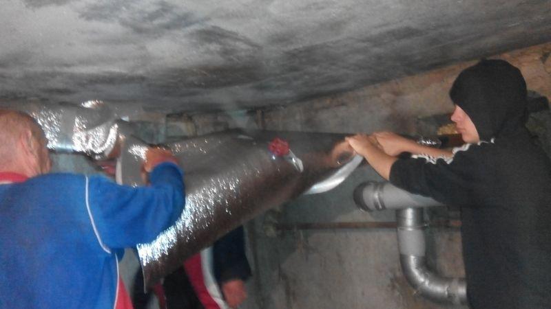 Эффективные способы утепления труб в подвале