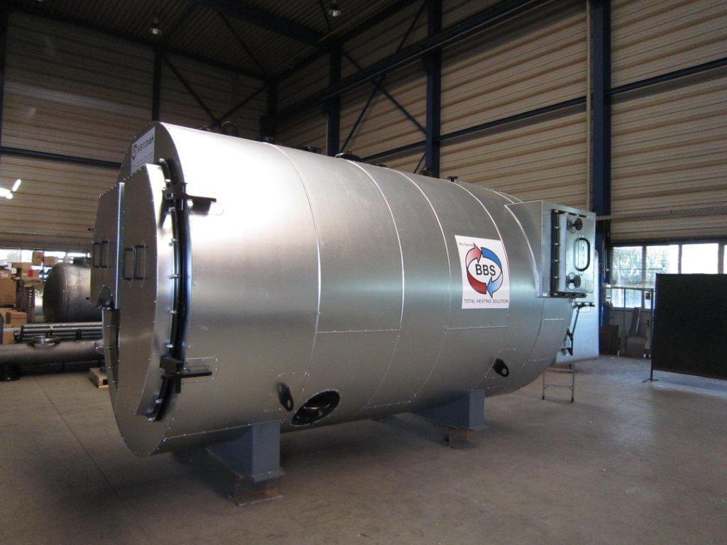 Котел утилизатор отходящих газов двухконтурный | проектирование тепловых электростанций