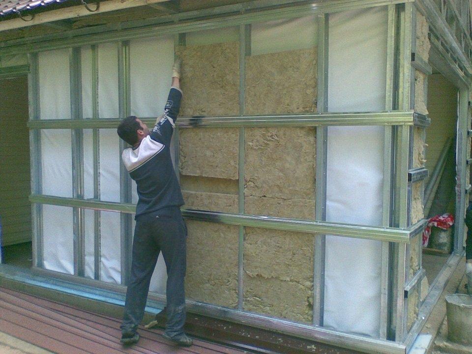 Утепляем недорого гараж изнутри своими руками как утеплить пенопластом стены