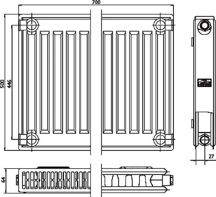 Почему именно энергосберегающий радиатор therm-x2? - kermi