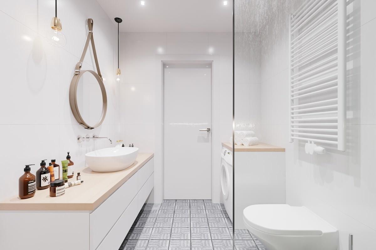 Ванная в скандинавском стиле 2017, 58 фото и идеи дизайна интерьера | the architect
