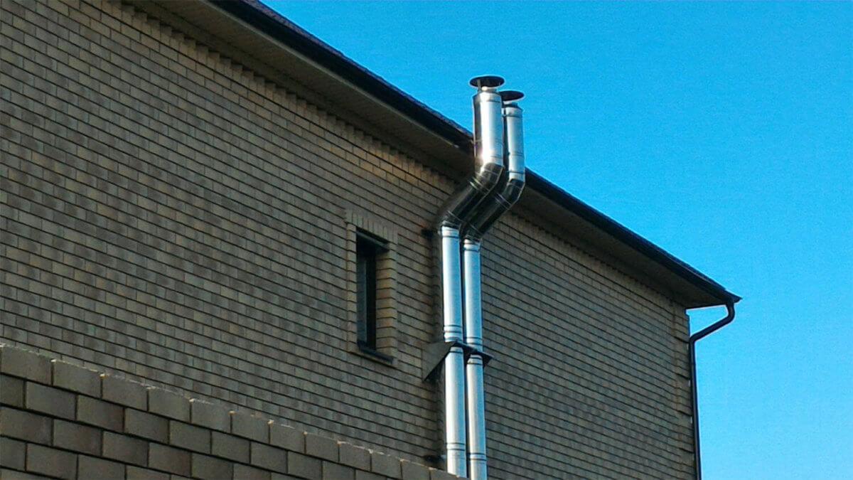 Можно ли безопасно использовать асбестовую трубу для дымохода?