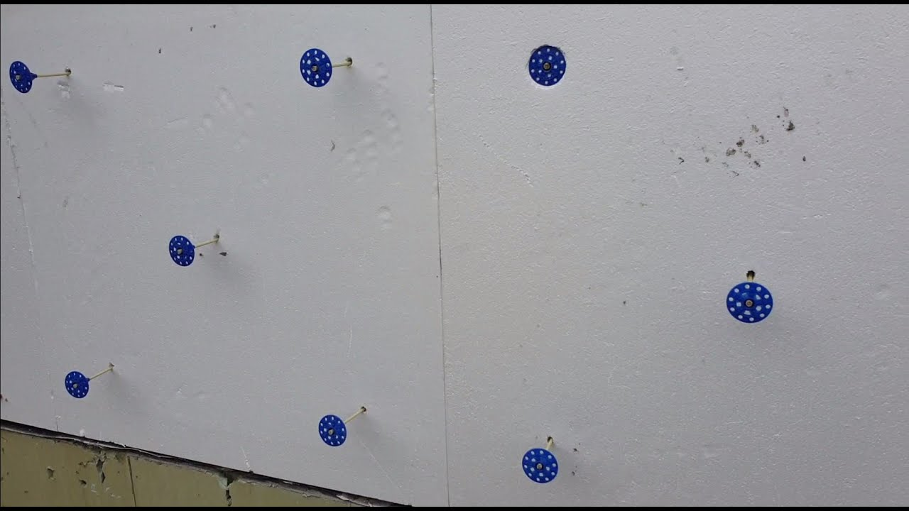 Утепление стен снаружи пенополистиролом: алгоритм действий