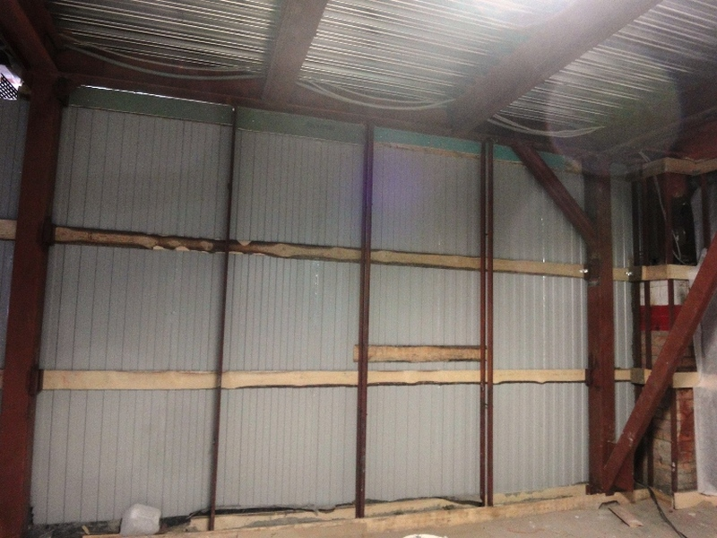 Утепление металлического гаража изнутри и снаружи своими руками: как обшить