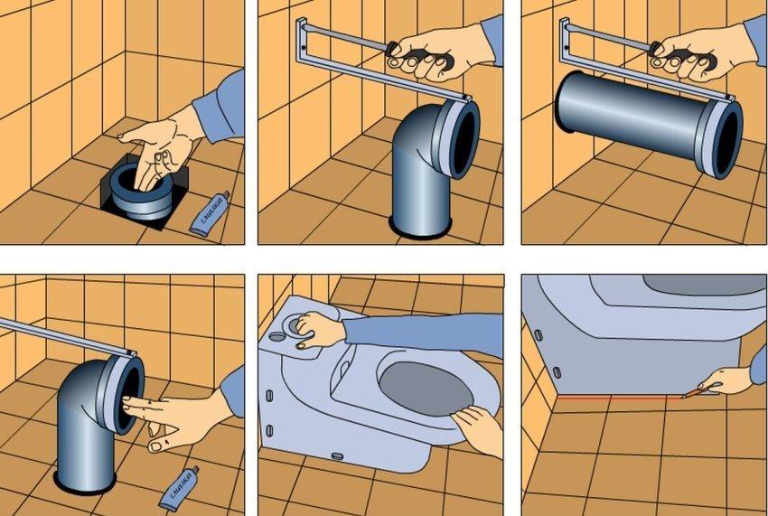 Как установить крышку на унитаз старого и нового образца — установка своими руками