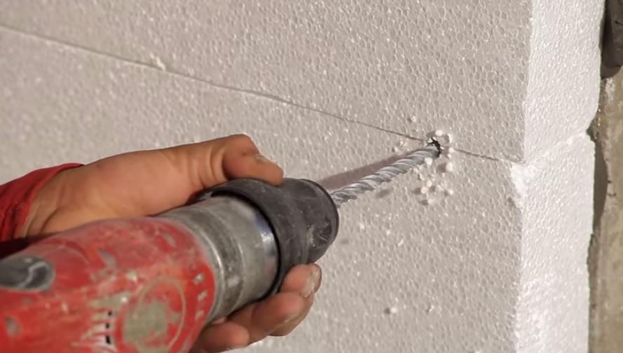 Как крепить пенопласт к стене как крепить пенопласт к стене
