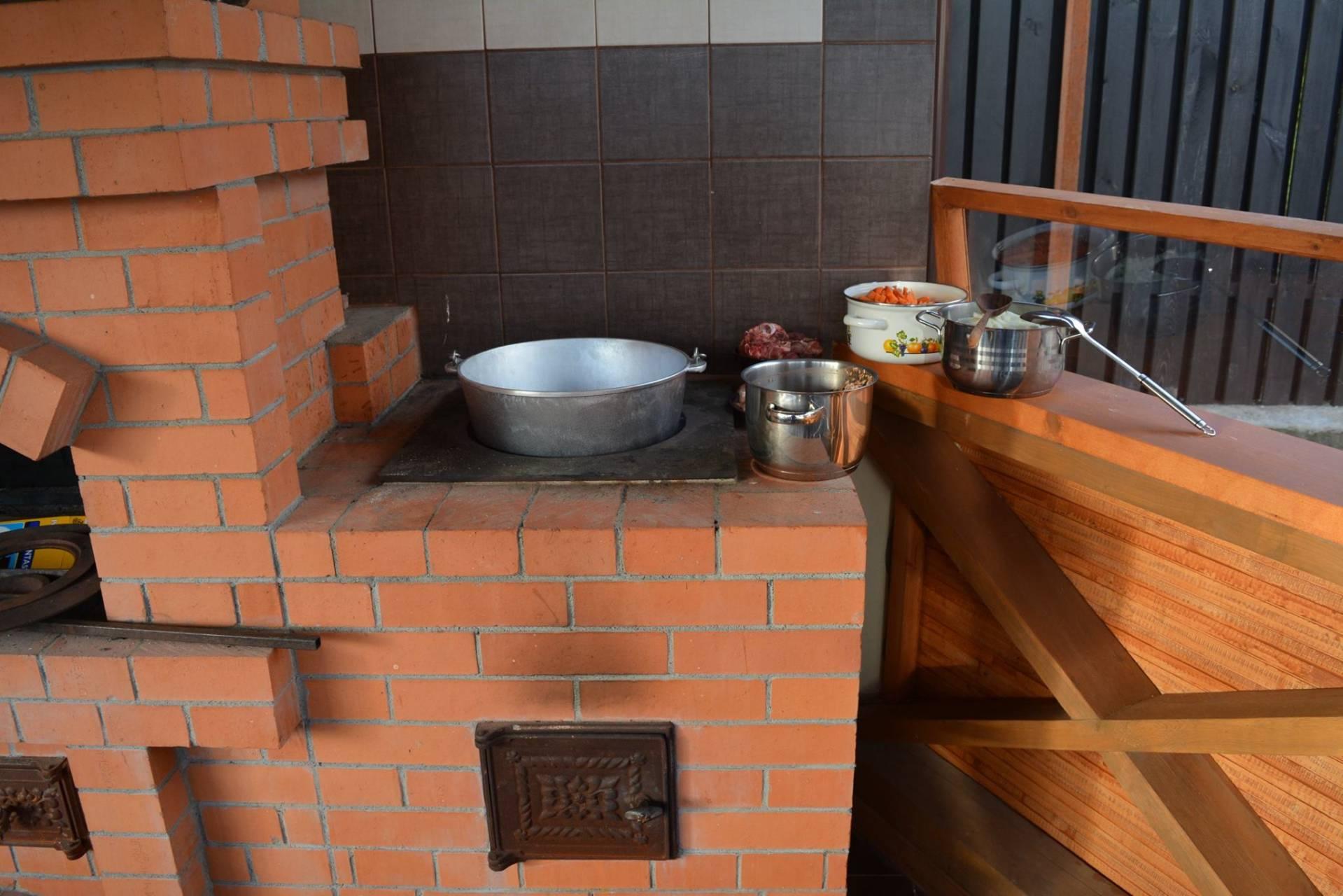 Печи под казан: принципы устройства и приготовления блюд, покупка, строительство самостоятельно
