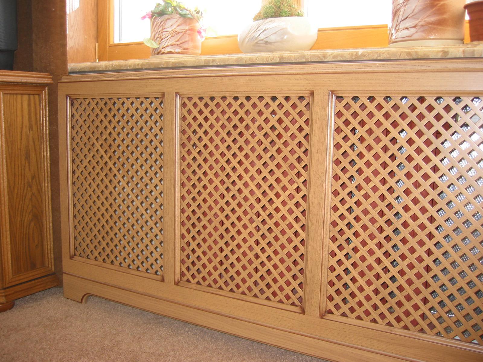 Решетки для радиаторов отопления: пластиковые, декоративные, деревянные