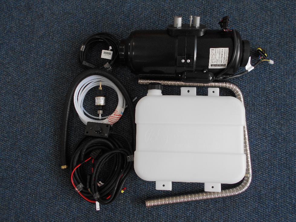 Отопитель воздушный универсальный дизельный планар 4дм-24в 3квт адверс