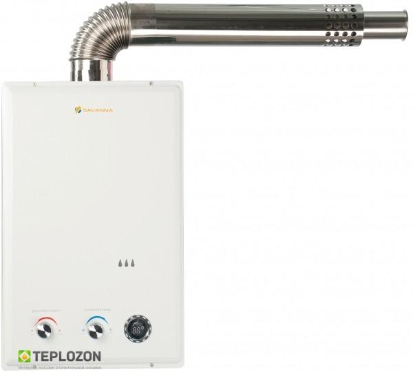 Как использовать турбированную газовую колонку?