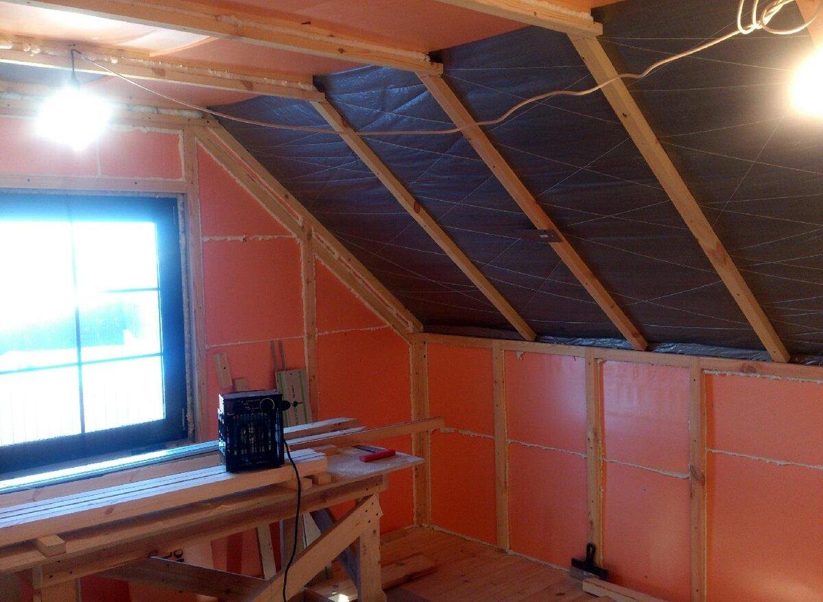Утепление дачного дома изнутри своими руками: выбор нужного материала
