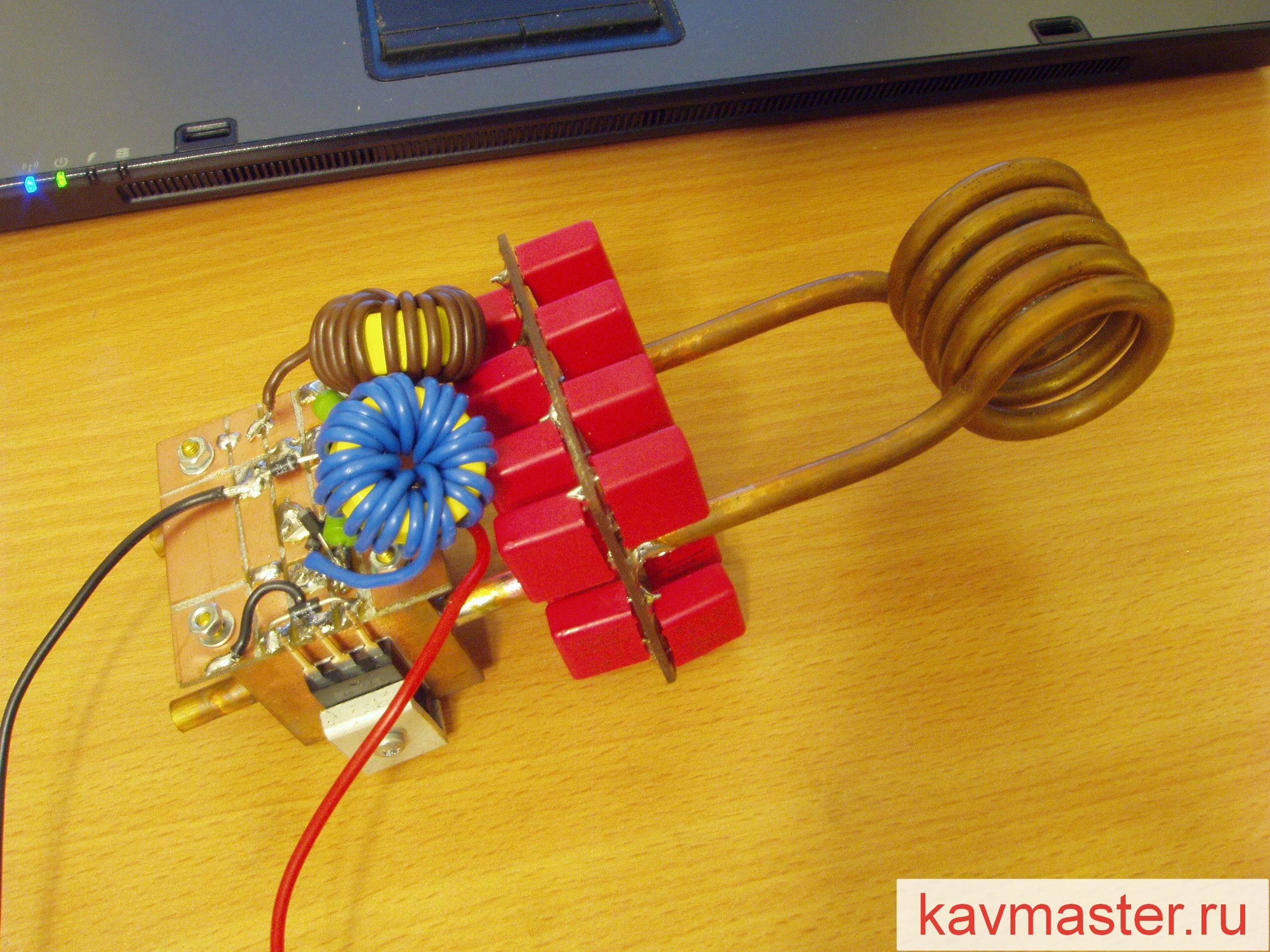 Индукционный котел своими руками: устройство, схема, чертежи, монтаж