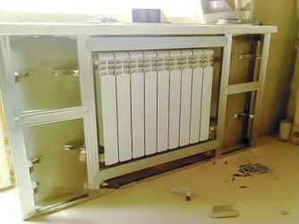 Чем закрыть батареи отопления: на кухне, в комнате, в ванной